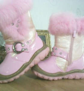 Ботиночки зимние на девочку