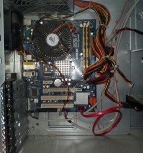 ПК - Pentium E5400 (2 ядра)2.80 GHz/4GB/250 GB
