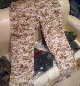 Штаны военной расцветки НАТО камуфляж