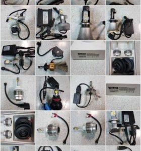 Светодиодные лампы H1, H3, H4, HB3, HB4, HB5, H7