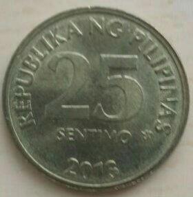 25 сентимо 2013 г. Филиппины.