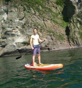 Сап сёрфинг sup board двух слойный