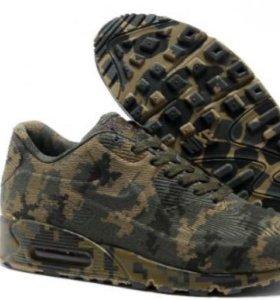 Nike air max 90 vt военные камуфляж в наличии 12 ш