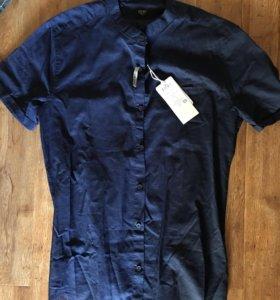 рубашка новая colins мужская