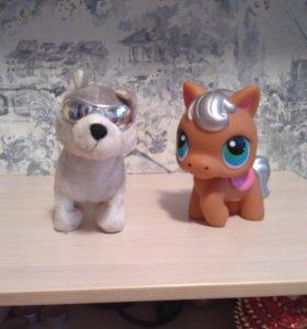 Поющие собака и май литл пони