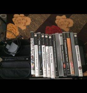 PSP с 16 играми