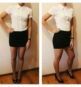 Рубашка белая,, туфли