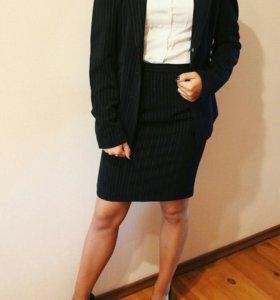 Костюм, юбка + пиджак