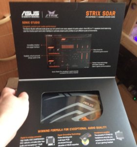Звуковая карта Asus strix soar