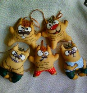 Кофейные игрушки ,сувенир