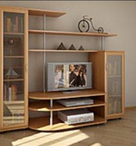 Мебель гостиная горка стенка
