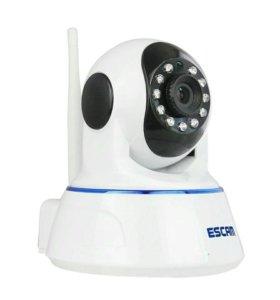 Поворотная HD камера видеонаблюдения.