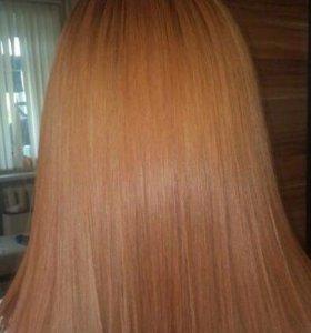 Кератиновое восстановление волос ,ботокс!
