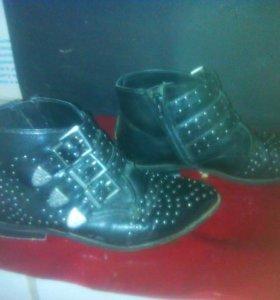 ботинки в стиле рокерские