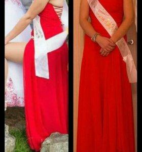 Продам платье ( шили на заказ)