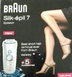 Эпилятор BRAUN Silkepil 7 5+