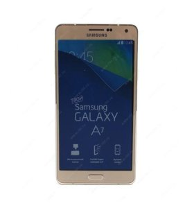 Samsung a7 gold android