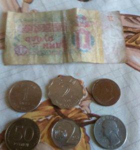 монетки старые