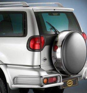 Защита бампера Nissan Terrano 2