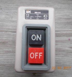 Выключатель кнопочный.