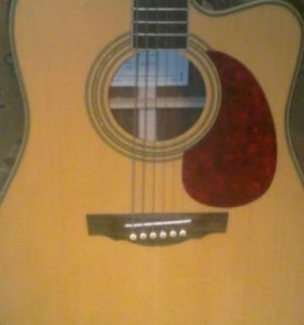 Электроакустическая гитара Naranda DG220се N