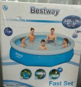 Новый надувной бассейн bestway