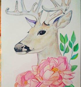 Рисунок 30×42 см