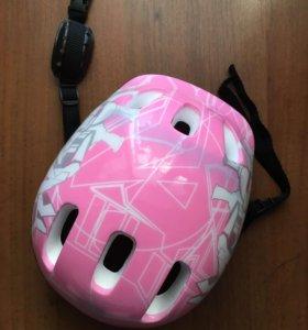 Защитный детский спортивный шлем, новый