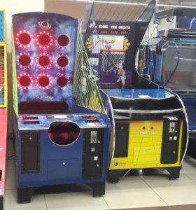 Развлекательные автоматы I-Hoop и I-Jump, обмен