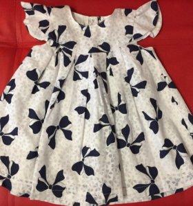 Платье на девочку 74 разм.