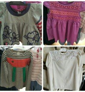 Платья, кофты, юбки, леггинсы. Gap, next, H&M, mot