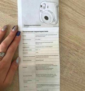 Фотокамера мгновенной печати Instax mini 8