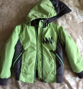 Курточка-бомбер (86-92)