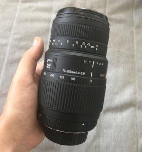 Sigma 70-300mm f4-5.6 dg macro for Nikon
