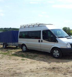 Пассажирские и грузовые перевозки минивэном