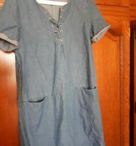 Джинсовые платье 😊
