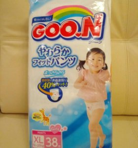 Подгузники-трусики Goon