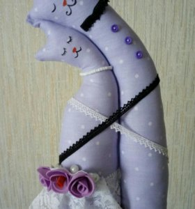 Коты-неразлучники игрушки ручной работы