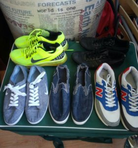 Обувь мужская б/у пакетом