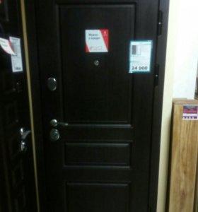 Металлические межкомнатные двери ламинат натяжные