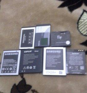 Акумуляторы для телефонов