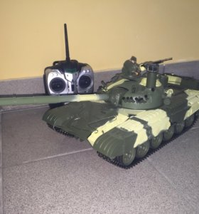 Радиоуправляемый танк Т-72