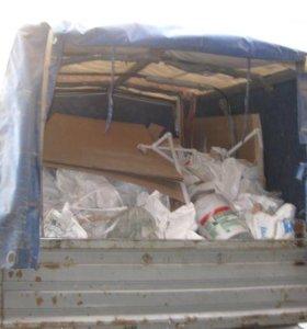 Вывоз строительного мусора и старой мебели