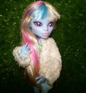 Продам перерисованную Эбби Monster high ООАК