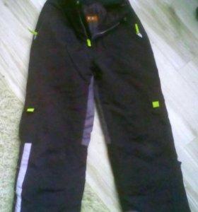Б/у тёплые штаны для мальчика