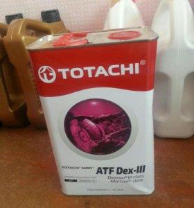 Totachi dextron 3. 4 литра.