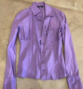 Блузка лилового цвета