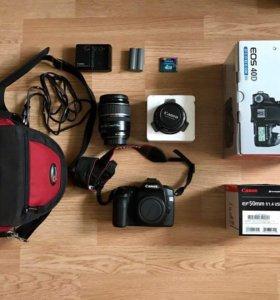 Зеркальный фотоаппарат Canon 40D