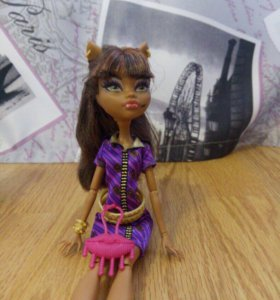 Кукла Monster High Клодин Вульф.