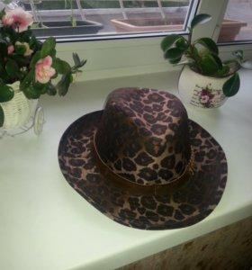 Шляпа леопардовая